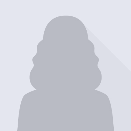 Placeholder of a woman's profile photo